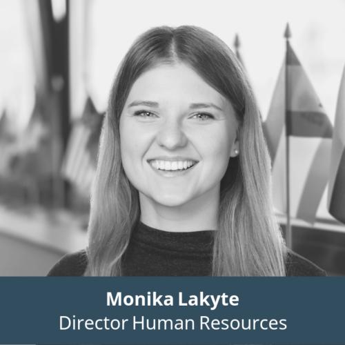 Monika Lakyte, HR Director at Biomapas
