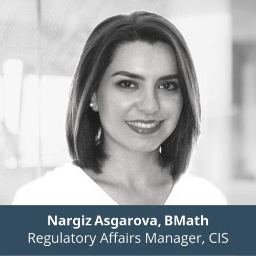 Nargiz Asgarova, Bmath, Regulatory Affairs Manager, CIS