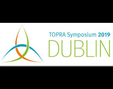TOPRA Annual Symposium, Dublin, Ireland. 30th September – 2nd October 2019.