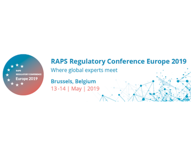 RAPS Regulatory Conference – Europe, Brussels, Belgium. 13th – 14th May 2019.