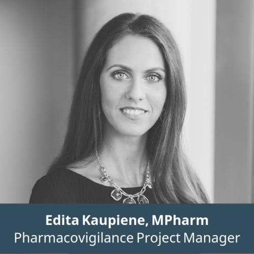 Edita Kaupienė, Pharmacovigilance Project Manager