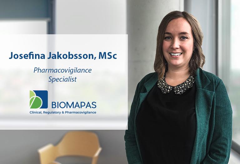 Josefina Jakobsson, MSc Pharmacovigilance Specialist Biomapas